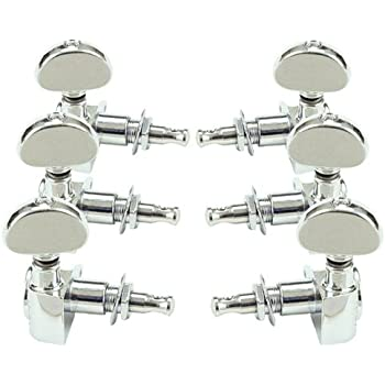 grover rotomatic guitar tuning machines 14 1 ratio 3 per side chrome 102c musical. Black Bedroom Furniture Sets. Home Design Ideas