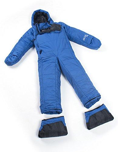 Selk'bag Adult Lite 5G Wearable Sleeping Bag: Seaport Blue, Medium
