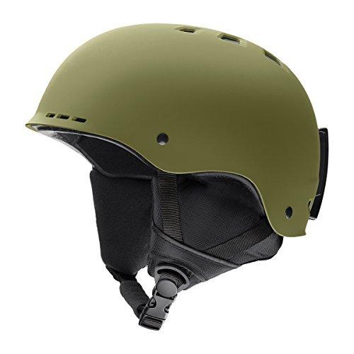Smith Optics Adult Holt Ski Snowmobile Helmet - Matte Olive / - Holt Olive