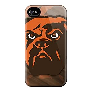 Flexible Tpu Back Cases Covers For Iphone 6 - Cleveland Browns