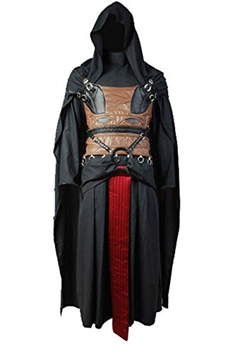 CosplaySky Star Wars Darth Revan Costume Halloween Outfit XXX-Large -