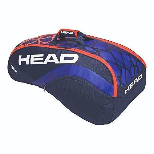 HEAD Radical 6R Combi Tennis Bag Blue/Orange