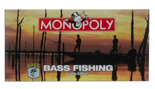 Monopoly MN037099 Bass Fishing Lakes product image