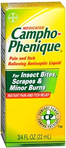 Campho-Phenique Antiseptic Liquid 0.75 oz (Pack of 3)