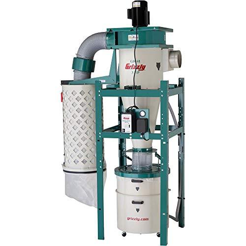 Colector de polvo ciclónico Grizzly Industrial G0441-3 HP