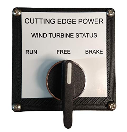 Cutting Edge Power 60 Amp 3 Phase Brake Switch for Most Wind Turbine Generators