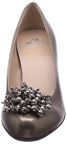 Diavolezza Ediana - Zapatos de tacón para mujer Gris