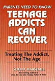 Teenage Addicts Can Recover, Shelly Marshall, 1880197022
