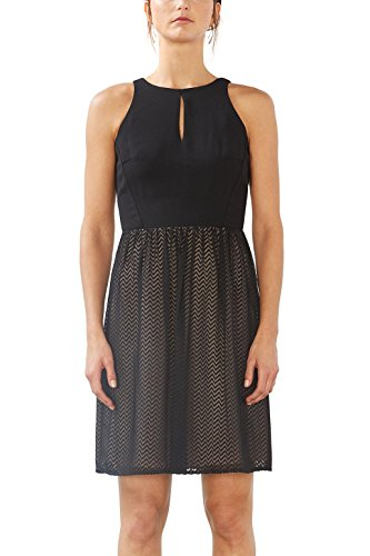 Collection Esprit Vestito black Nero Donna B6qqW8dF