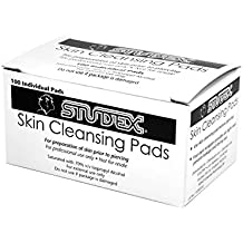 Studex Skin Cleansing Pad for Ear Piercing After Care 100 Count for Sensitive...