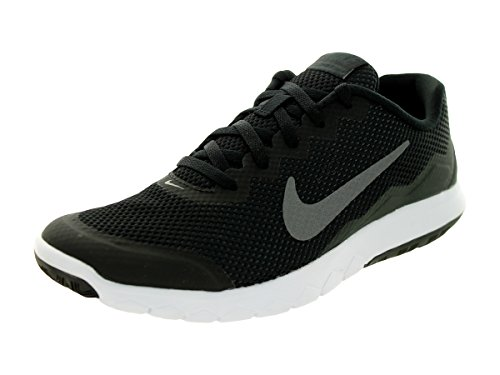 Nike Womens Flex Experience Rn 4 Black/Mtlc Drk Gry/Anthracite/White Running Shoe 10 Women US KTPCyY