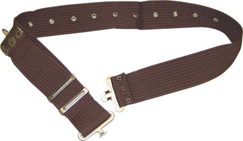 Rooster 505 2-1/4-Inch Cotton/Polyweb Work Belt, Military Style