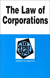 Law of Corporations in a Nutshell (Nutshell Series)