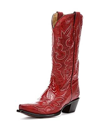 Corral Womens R1952 Desert Red 100% Leather Boot 6.5 Medium (B) US