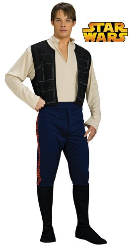 Rubie's Costume Star Wars Han Solo, Multicolored, One Size Costume