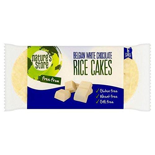 Nature's Store GF White Chocolate Rice Cakes - (Cooking Chocolate Cake)
