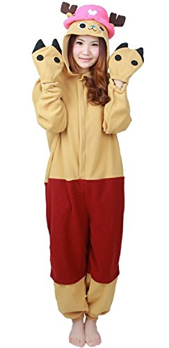 Lava-ring Tony Chopper Pyjamas Kigurumi Halloween Costume -