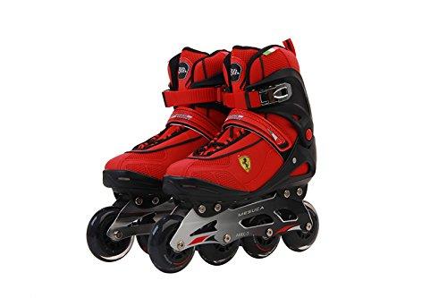 Ferrari Fitness Inline Skate, Red/Black, Size 39