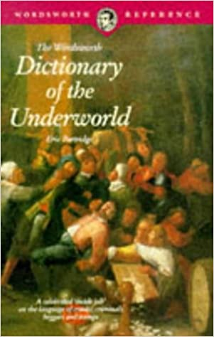 Book Dictionary of the Underworld (Wordsworth Collection)