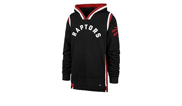 47 Toronto Raptors North Chevron 2021 Collection Hoodie 47 Brand Classic White Unisex Hoody