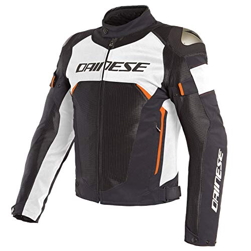 Dainese Dinamica Air D-Dry Jacket (54) (Black/White/Fluorescent - Rider Extreme Jacket