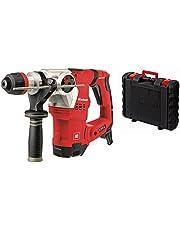 Einhell Bohrhammer TE-RH 32 E (1250 W, 5 J, Bohrleistung Ø 32 mm, SDS-Plus-Aufnahme, Metall-Tiefenanschlag, Vibrationsdämpfung mit Andruckanzeige, Koffer)