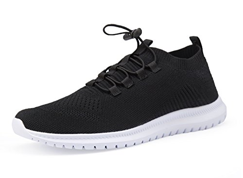 Women Gym Shoes Sneakers Athletic Shoes Casual Walking Shoes (7.5 B(M) US, Black 2)