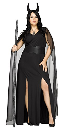 UHC Women's Keeper of the Damned Outfit Adult Halloween Plus Size Costume, XL (16-20)