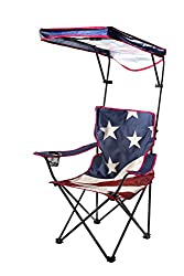 US Flag Folding Shade Chair