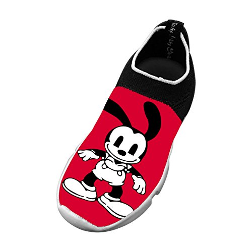 Lucky Rabbit Customized Printing Children's Slip-on Flyknit Outdoor Sport Shoes
