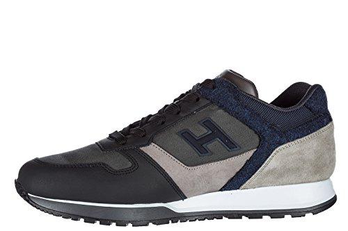 H321 Chaussures Hogan Gris Pour Les Hommes Th63l5Fe