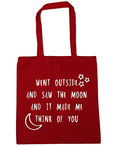 Went litres think HippoWarehouse made moon Beach Red Tote of me 10 the x38cm saw Shopping it and 42cm Bag and outside Classic Gym you 1qnCwqp4dx