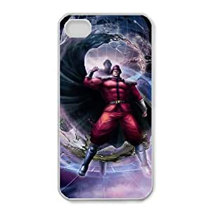 iphone4 4s White phone case Street Fighter M. Bison Cool gift SFB1730787