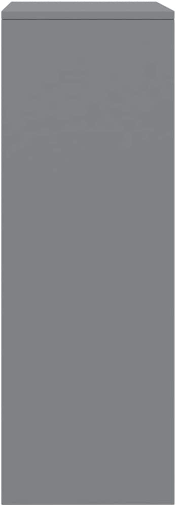 vidaXL Credenza con 6 Cassetti Minimalista Robusta Elegante Madia Armadietto Cassettiera Arredo Casa Grigia 50x34x96 cm in Truciolato