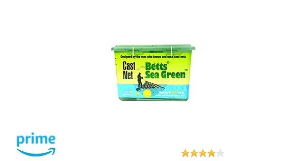 "BETTS 14-7 PRO SERIES SEA GREEN 7FT 5//8/"" MESH MONO CAST NET"