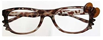 39186f2a804 Hello Kitty Eyeglass Frame with Colorful Bowknot and Whiskers (No Lens)  Metal Hinge for