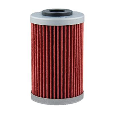 Hiflofiltro HF155-2 2 Pack Premium Oil Filter, 2 Pack: Automotive