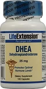 Life Extension - Dhea - 25 Mg - 100 Caps