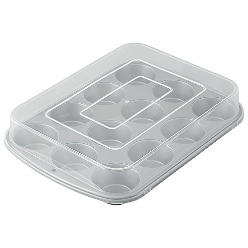 Wilton Recipe Right Covered Muffin Pan (Wilton Covered Cake Pan)