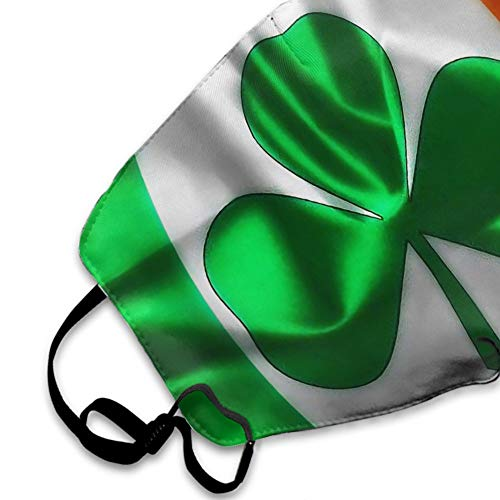 NEWKOW Mask, Anti-Dust Mouth Mask Cute Face Mask Shamrock Irish Flag