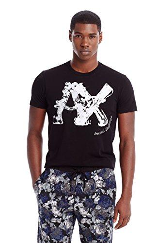 Armani Exchange Mens Wafted Logo Tee
