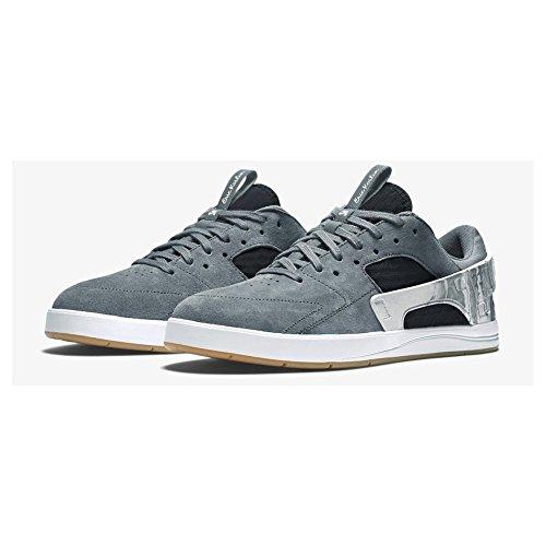 NIKE Chaussures de Eric Koston Huarache Skateboard pour homme - Blanc - cool grey black white 002, 43 EU