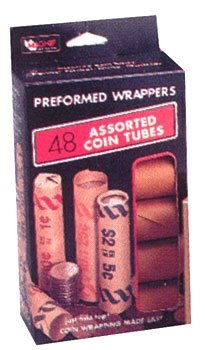 Mag-Nif Coin Wrappers with Preformed Holders - Quarters, Dimes, Nickels & Pennies