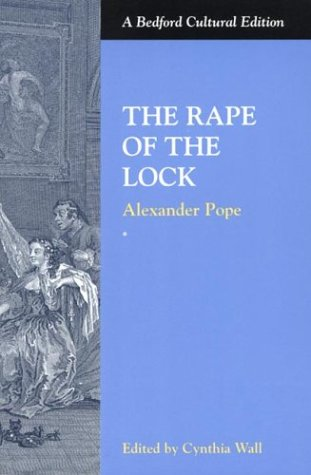The Rape of the Lock (Bedford Cultural Editions)