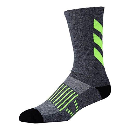 - Troy Lee Designs Men's Performance Escape Crew Socks,10-13,Grey/Flo Yellow