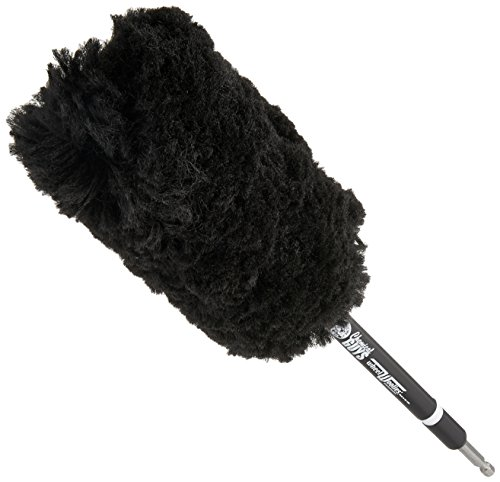 Chemical Guys ACC401 Power Woolie Microfiber Wheel Brush with Drill Adapter (Brush Adapters)