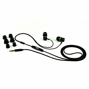 PAC ISHP2501 PAC HEDFX SOUND ISOLATING HEADSET WITH REMOTE AND MIC FOR iPod iPhone OR iPad
