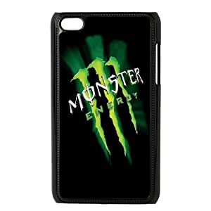 Monster Energy For Ipod Touch 4th Csae protection phone Case ER978474