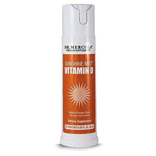 Dr. Mercola Sunshine Mist Vitamin D Spray - 1,000 IU Of V...