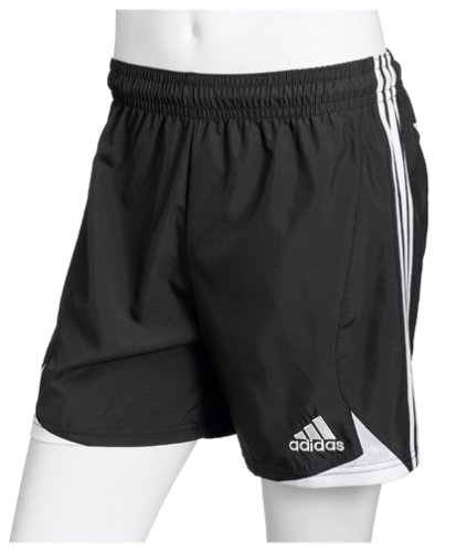 da2d87c6e7c7 Amazon.com : adidas Men's Milano Short, Black/White, Small : Soccer ...